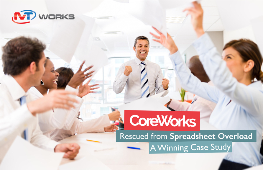 Rescued from Spreadsheet Overload: A Winning Case Study